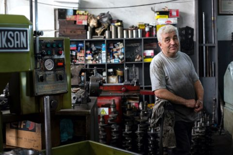 Small Mechanic Business Owner