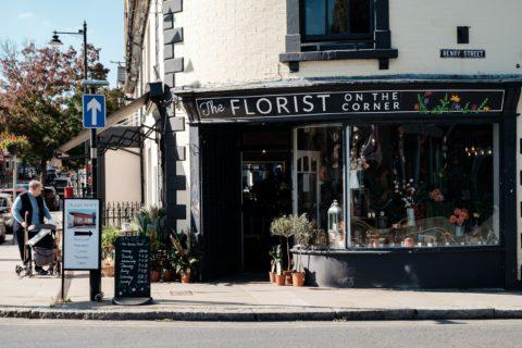 The florist on the corner